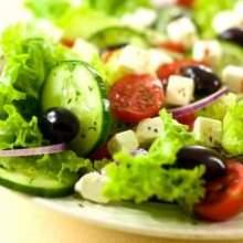 Великий пост. Полезный салат.