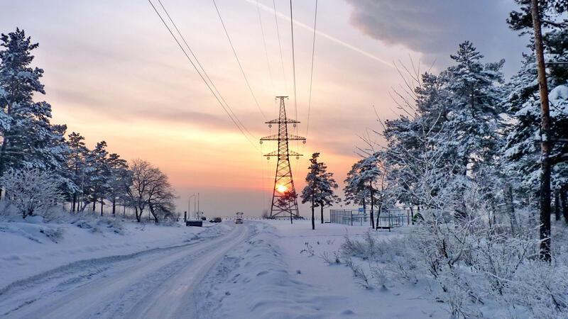The best winter wallpaper on your desktop / part 2 Природа, The best winter wallpaper on your desktop, Desktop Wallpapers, Winter, Forests, Sunset, Sunrise id1371036176