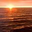 Обои красивого моря на закате Природа, Море, Закат, Восход, Девушка и море id1648248129