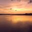 Обои красивого моря на закате Природа, Море, Закат, Восход, Девушка и море id1425856595