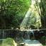 Шпалери загадкових Водоспадів Природа, Водоспади, Гори, Ліс, Захід Сонця, Схід Сонця id717017803