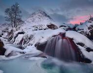 Фотошпалери красивих та загадкових Зимових Лісів Природа, Зима, Ліс, Захід Сонця, Схід Сонця id412047609
