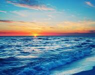 Wallpaper of a beautiful sea at sunset Nature, Sea, Sunset, Sunrise id1373567307