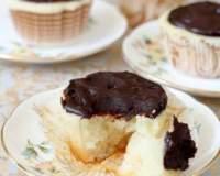 Кекси в шоколадній глазурі без яєць